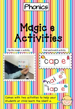 Magic e - Clip the Magic e
