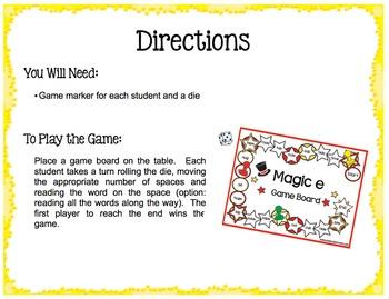 Magic e Game Boards