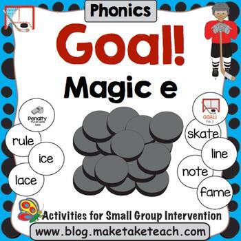 Magic e - Goal! A Hockey Themed Activity