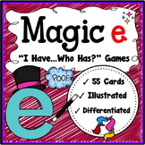 Magic e Game {Speaking & Listening I Have, Who Has Game}
