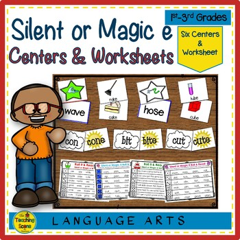 Silent or Magic ē Phonics Centers