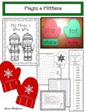 Winter Activities: Magic e Mitten Activities