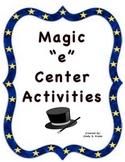 MAGIC 'E' Phonics Centers