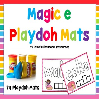 Magic e Playdoh Mats