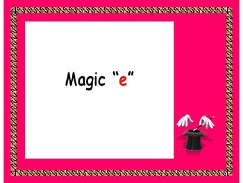 "Magic ""e""    PowerPoint"