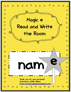 Magic e Read and Write the Room