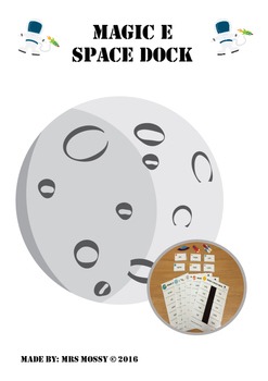 Magic e Space Dock Phonics Game