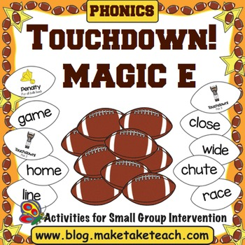 Magic e - Touchdown!