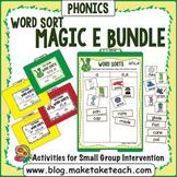Magic e Word Sort Bundle