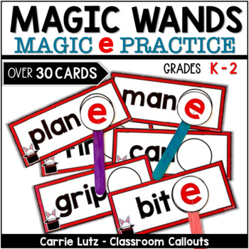 Magic e Word Work Station