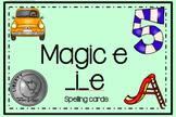 Magic e: _i_e Spelling Center
