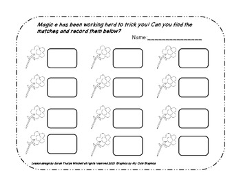 Magic e for Spring Time Literacy with Differentiation