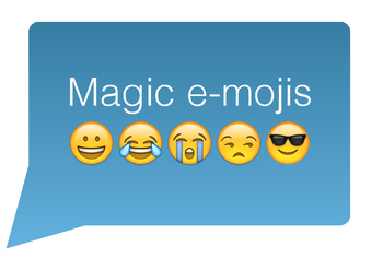 Magic e-mojis (file folder game)