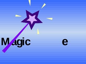 Magic e- phonics