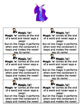 Magic e rule