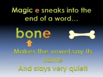 "Magic ""e""/Quiet ""e"" Powerpoint"
