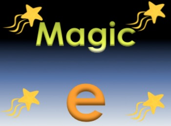 "Magic ""e""/Quiet ""e"" Powerpoint"