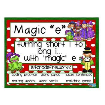 Magic e..turning short i into long i