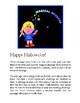 Magic message: Happy Hallowe'en!