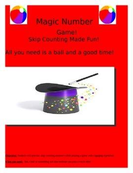 Magic number skip counting game!