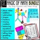 1st Grade Magic of Math:  The Growing BUNDLE