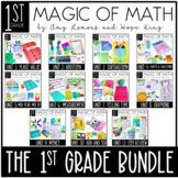 1st Grade Magic of Math:  The Year Long BUNDLE