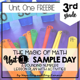 3rd Grade Magic of Math FREEBIE:  SAMPLE DAY