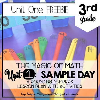 3rd Grade Magic of Math FREEBIE:  SAMPLE DAY