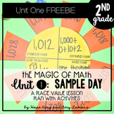2nd Grade Magic of Math FREEBIE:  SAMPLE DAY
