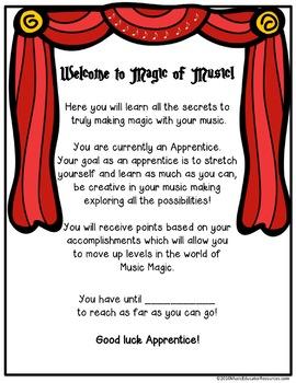 Magic of Music Incentive Program