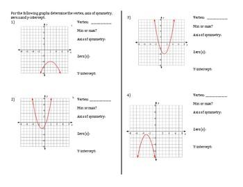 Magic of Quadratics foldable
