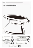 Magic words worksheet   - good manners