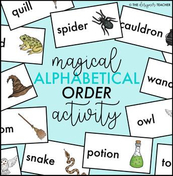 Magical Alphabetical Order Activity