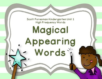 Magical Appearing Words