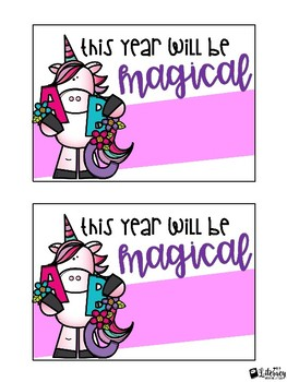Magical Back to School Kit {Postcards & Door Decor)