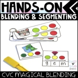 Hands On Blending and Segmenting - CVC Words