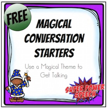 Magical Conversation Starters (FREE)