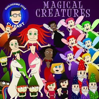 Magical Creatures Clipart