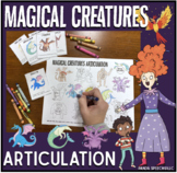 Magical Creatures Articulation Drill Pages