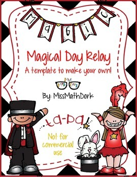Magical Day Relay template - Personal Use Only!