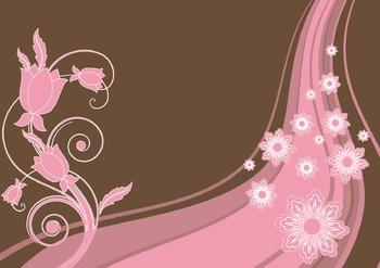Magical Flower Digital Paper