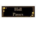 Magical Hall Passes!