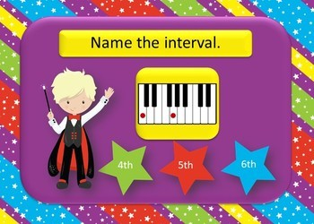 Magical Intervals Boom Cards