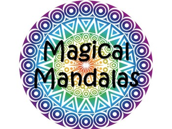 Magical Mandala PowerPoint pdf with Radial Symmetry