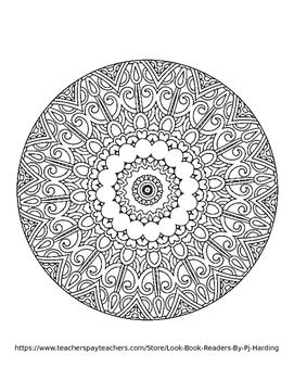 Magical Mandalas 1 - 10 Page Coloring Book