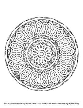Magical Mandalas 4 - 10 Page Coloring Book