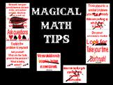 Magical Math Tips- Bulletin Board Set