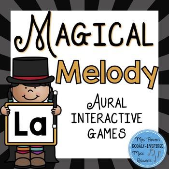 Magical Melody: Aural Interactive Game {La}