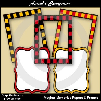 Magical Memories Paper & Frame Pack