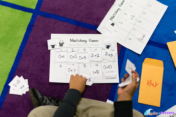 Addition to 10 Timed Tests, Flash Cards, Games and Activities